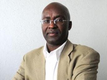 Achille Mbembe, professeur d'histoire et de développement à l'Université Witwatersrand, à Johannesburg. DR.