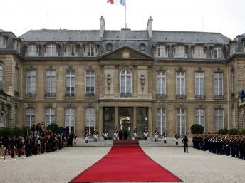 Le palais de l'Elysée à Paris, France. REUTERS/Jacky Naegelen