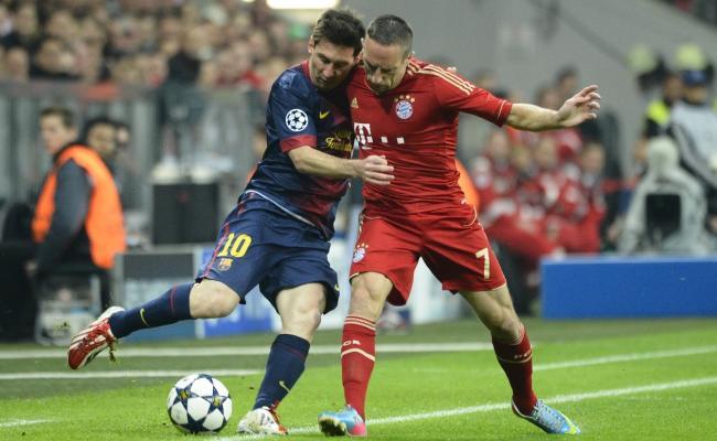 Ballon d'or 2013: Ribéry contre Cristiano Ronaldo et Messi