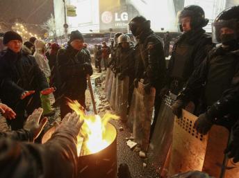 A Kiev, le 10 décembre 2013. REUTERS/Gleb Garanich