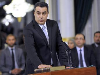 Le Premier ministre Mehdi Jomaa (ici en mars 2013) doit désormais former son cabinet. AFP PHOTO/FETHI BELAID