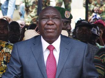 Michel Djotodia, le président de la transition en Centrafrique. REUTERS/Alain Amontchi