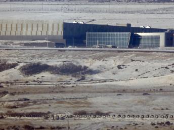 Un centre de collecte de données de la NSA, à Bluffdale (Utah), le 17 décembre 2013. REUTERS/Jim Urquhart