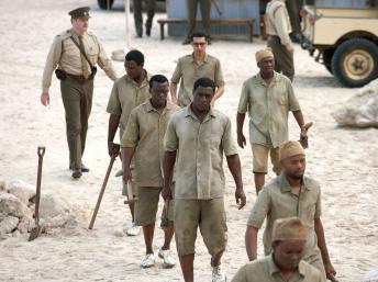 "Idris Elba interprête Mandela dans le film ""Mandela, un long chemin vers la liberté"" de Justin Chadwick. Keith Bernstein"