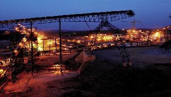 La mine d'or de Loulo. Le Mali peut notamment compter sur ses ressources minières. © Randgold