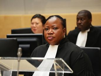 La procureur de la CPI, Fatou Bensouda. Reuters