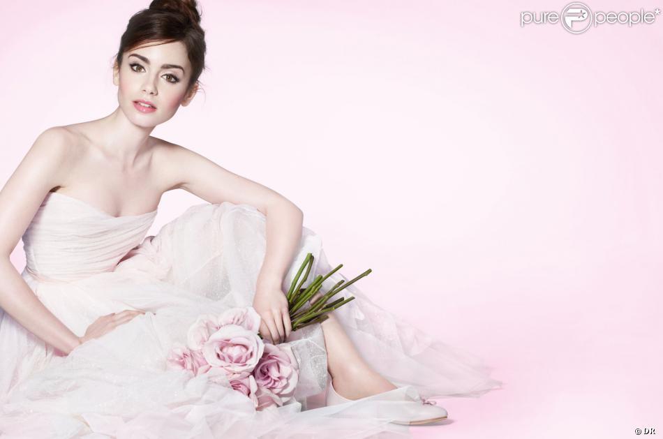 Lily Collins : Une French Ballerine de toute beauté