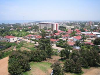 Vue de Bujumbura au Burundi. Photo: SteveRwanda, source: Wikipédia