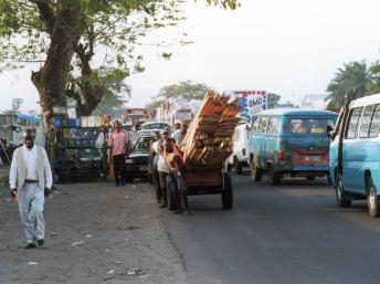 Scènes de rue à Kinshasa. Craig Lapp/NFB/Getty Images