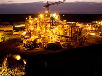 La mine d'or de Tasiast en Mauritanie a commencé sa production en 2008. Photo: Kinross Gold Corporation (2012)