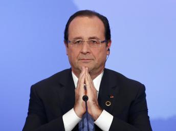 François Hollande a exprimé ses regrets à propos de sa boutade sur la sécurité en Algérie. REUTERS/Benoit Tessier