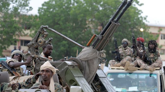Un soldat tchadien au camp de Béal, le 9 décembre dernier. REUTERS/Emmanuel Braun