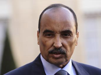 Le président mauritanien, Mohamed Ould Abdel Aziz, le samedi 24 novembre. REUTERS/Philippe Wojazer