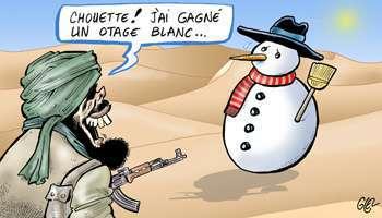 Noël : de la neige en Afrique...