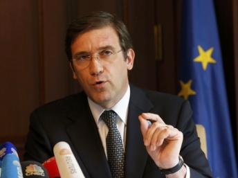 Le Premier ministre du Portugal Pedro Passos Coelho doit faire face à une série de grève, qui font suite à de nouvelles mesures d'austérité. REUTERS/Tobias Schwarz