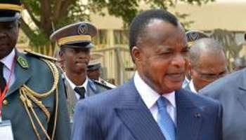 Sassou Nguesso a lui-même commandé l'assaut contre la résidence du colonel Ntsourou. © AFP