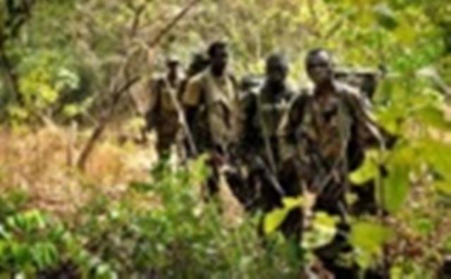 Une patrouille de l'armée ougandaise. Que s'est-il exactement passé à Kamango?