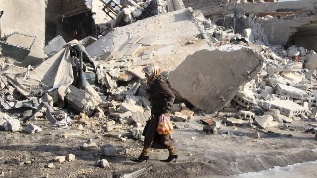 Conflit syrien. 517 morts en deux semaines de raids aériens à Alep