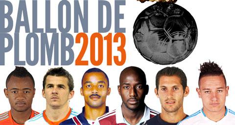 Election du Ballon de Plomb, le pire footballeur de l'année...