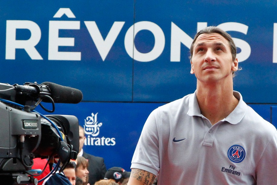 "Ibrahimovic : ""Les ambitions sont énormes"""