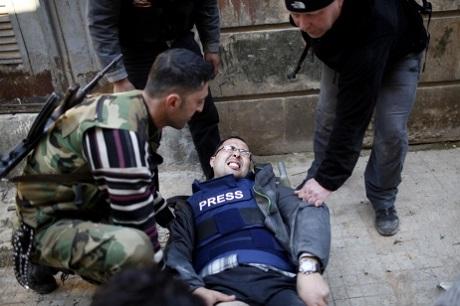 108 journalistes tués dans le monde en 2013