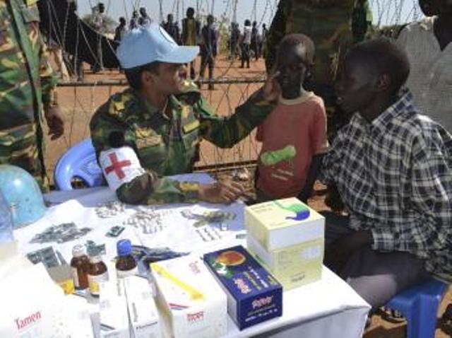 Les renforts de casques bleus pour le Soudan du Sud en discussion à l'ONU