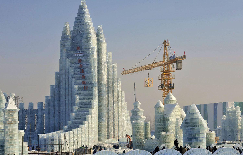 Winter Wonderland: La ville chinoise entièrement faite de glace