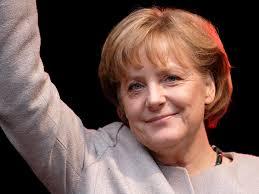 Angela Merkel se blesse dans une chute en ski de fond