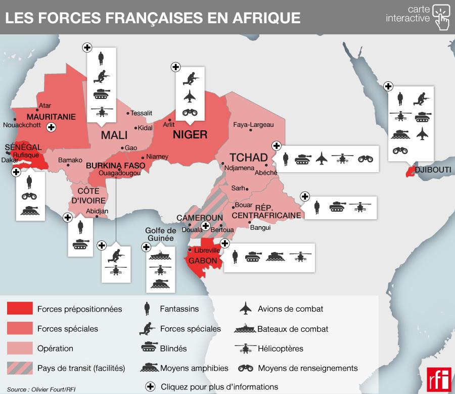La France «réarticule» ses forces militaires dans la zone sahélo-saharienne