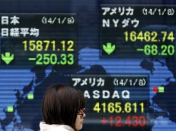 A Tokyo, le 9 janvier 2014. les échanges économiques forment une large part des discussions franco-japonaises. REUTERS/Yuya Shino