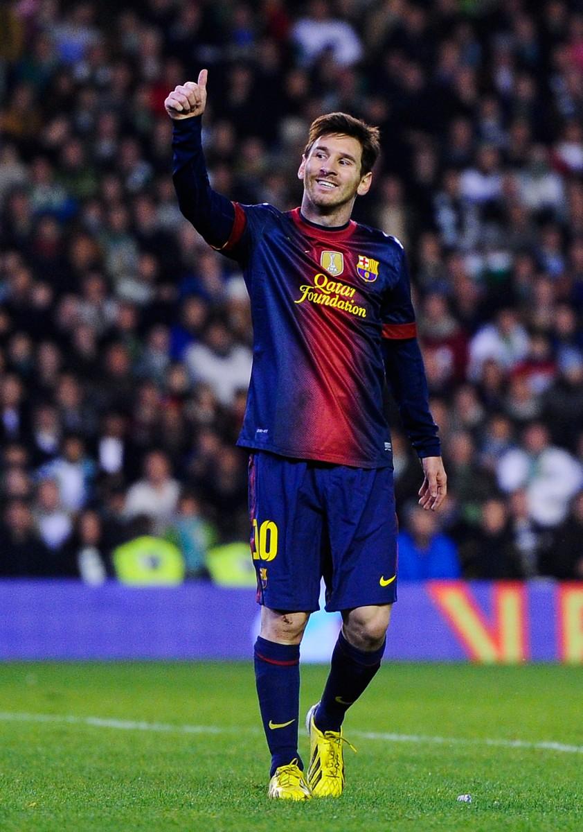 Un doublé de Lionel Messi pour son retour avec le Barça
