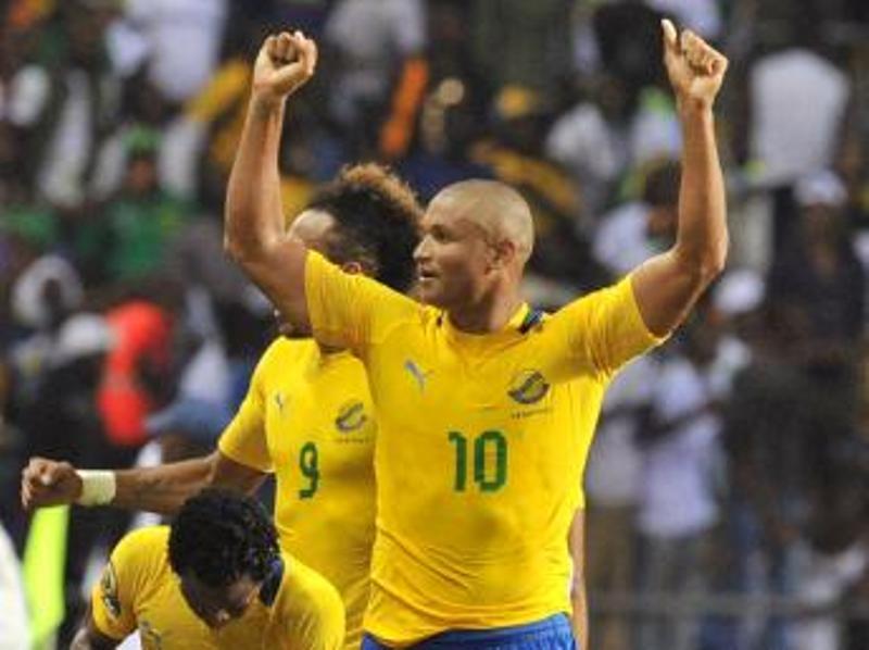 Le Gabonais Daniel Cousin. AFP PHOTO / ISSOUF SANOGO