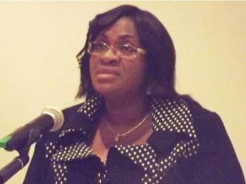 Le procureur de la République du Gabon, Sidonie Flore Ouwé. © Gabonreview.com/Loïc Ntoutoume