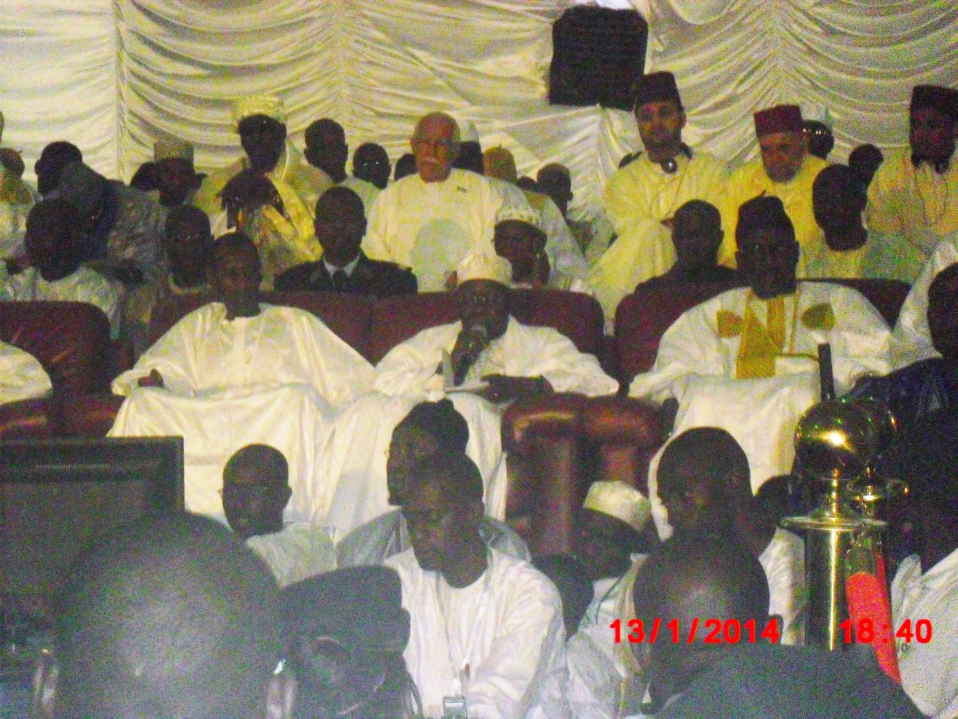 Gamou Tivaoune: images cérémonie officielle