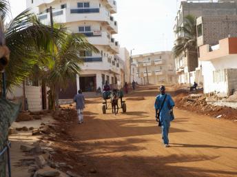 Le quartier de Yoff à Dakar. Getty Images/Tim E White