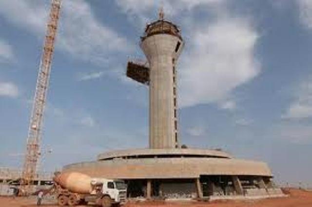 Pose de la première pierre de la grande mosquée du site de recasement de l'AIDB