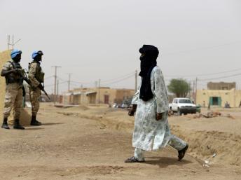 Que ce soit dans la région de Tombouctou ou de Kidal, des cellules jihadistes tentent toujours de se reconstituer. AFP/KENZO TRIBOUILLARD