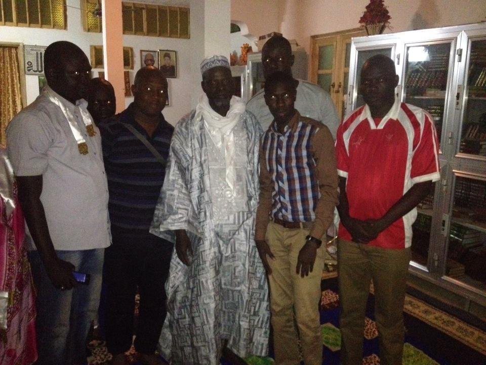 Caravane de  L'ACTE 3 de la  décentralisation à  Matam : Thierno Samassa reçoit une délégation du 2CD