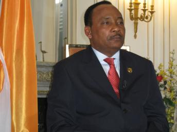 Mahamadou Issoufou, président de la République du Niger ©RFI/Delphine Michaud