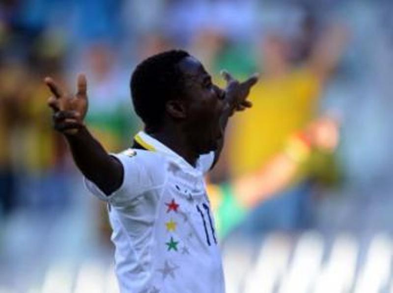 Théophilus Anobaah, joueur de l'équipe ghanéenne. cafonline