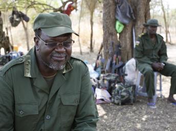 L'ancien vice-président Riek Machar dans l'Etat de Jonglei, au Soudan du Sud, le 31 janvier 2014. REUTERS/Goran Tomasevic