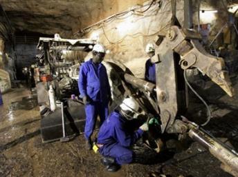 Arlit, la mine d'uranium exploitée par la société française Areva, au Niger. AFP