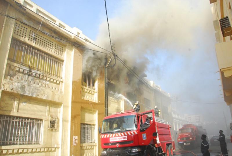 Du feu au Commissariat central: le réfrigérateur du commissaire en cause