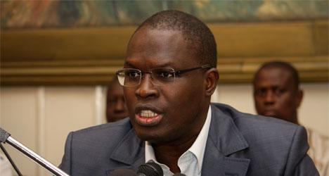 Khalifa Sall, maire de Dakar