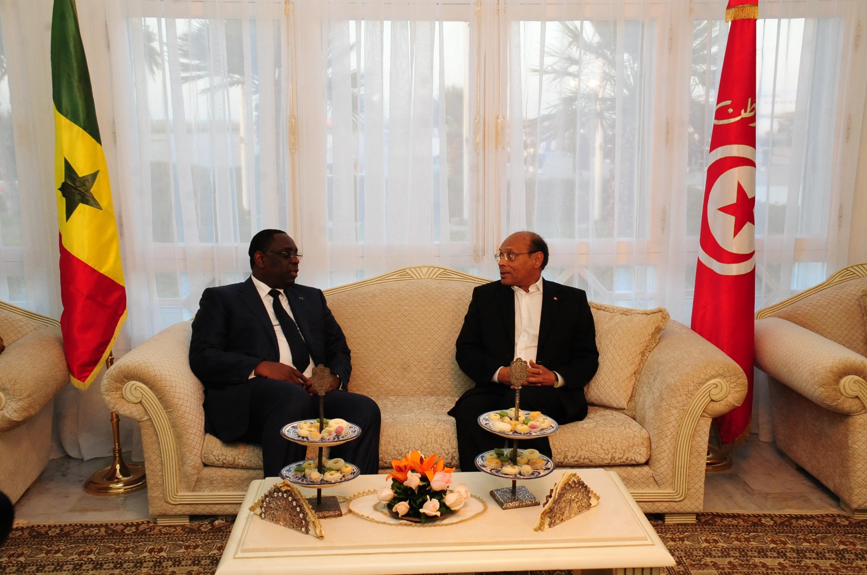 Macky Sall, témoin du vendredi décisif en Tunisie