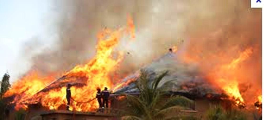 Violent incendie dans le Département de Vélingara : Sarécoly Salé rayé de la carte