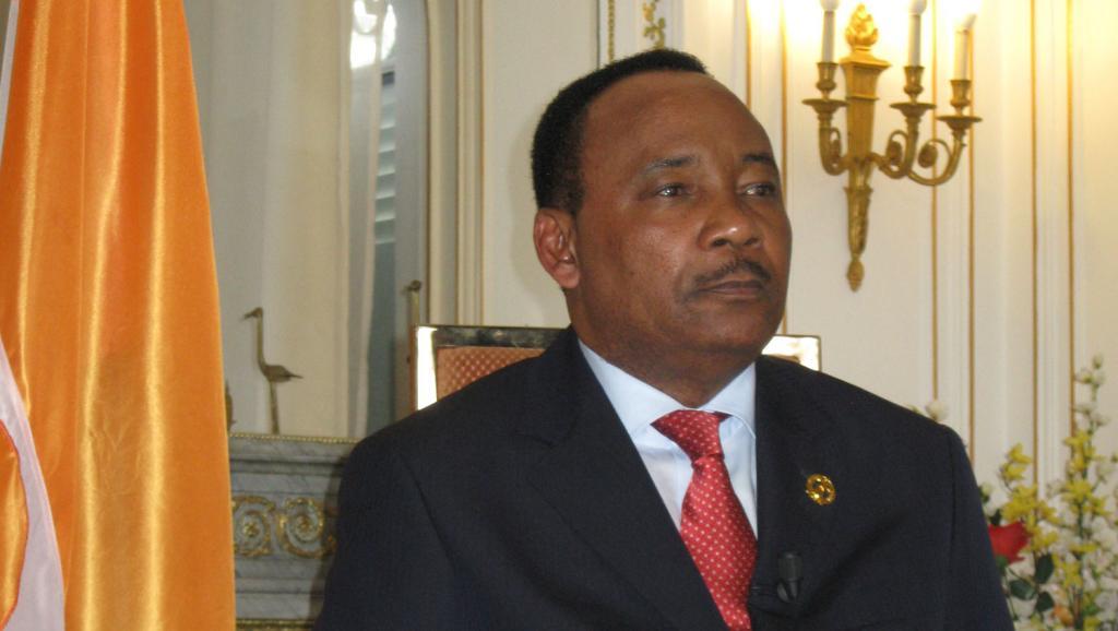Mahamadou Issoufou, président de la République du Niger.