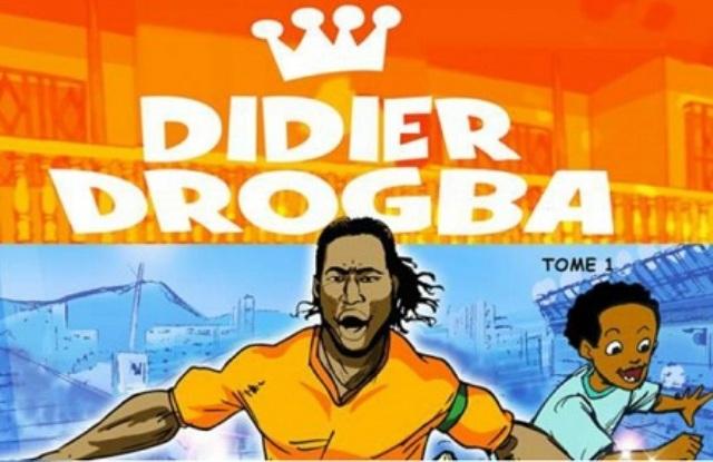 la vie en bulles de Didier Drogba en bande dessinée