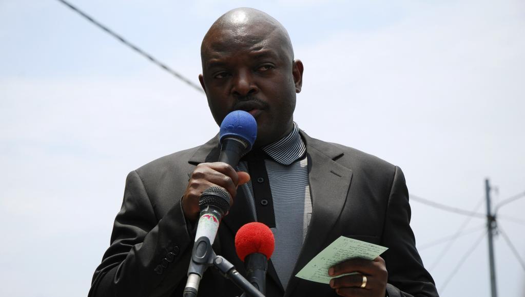 Le président burundais, Pierre Nkurunziza. REUTERS/Stringer