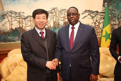Réhabilitation du chemin de fer Dakar-Bamako: Macky Sall reçoit le PDG de China Railway Corporation